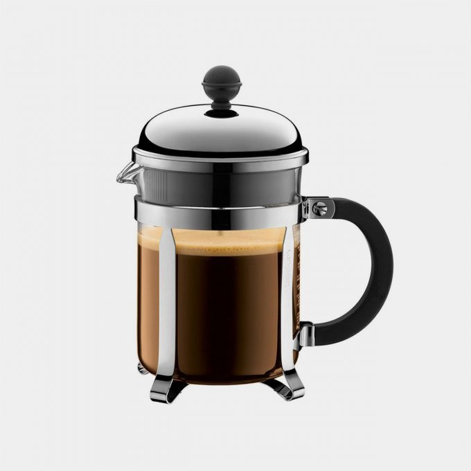 Bodum CHAMBORD Chrome Coffee Maker (4 cup)